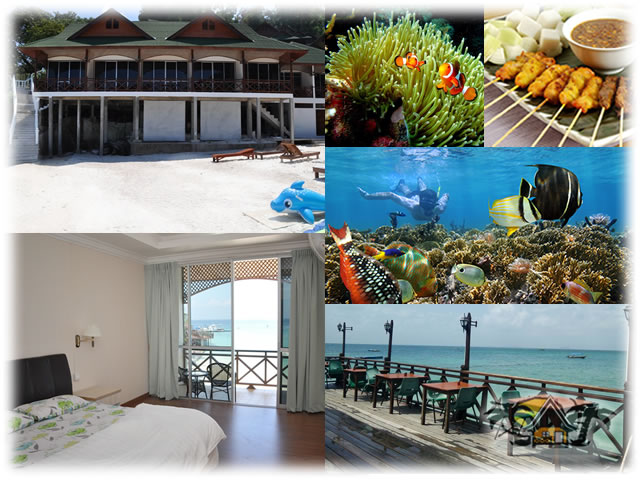 New Cocohut Package - 4 days 3 nights - Quad (Low season) : Superior Beach Front Chalet